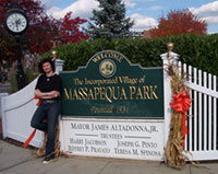 Massapequa Park sign